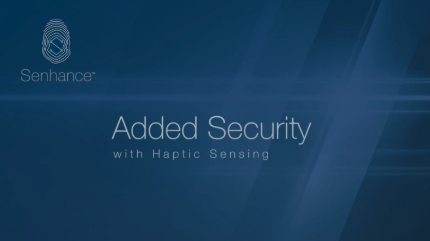 Added Security with Haptic Sensing